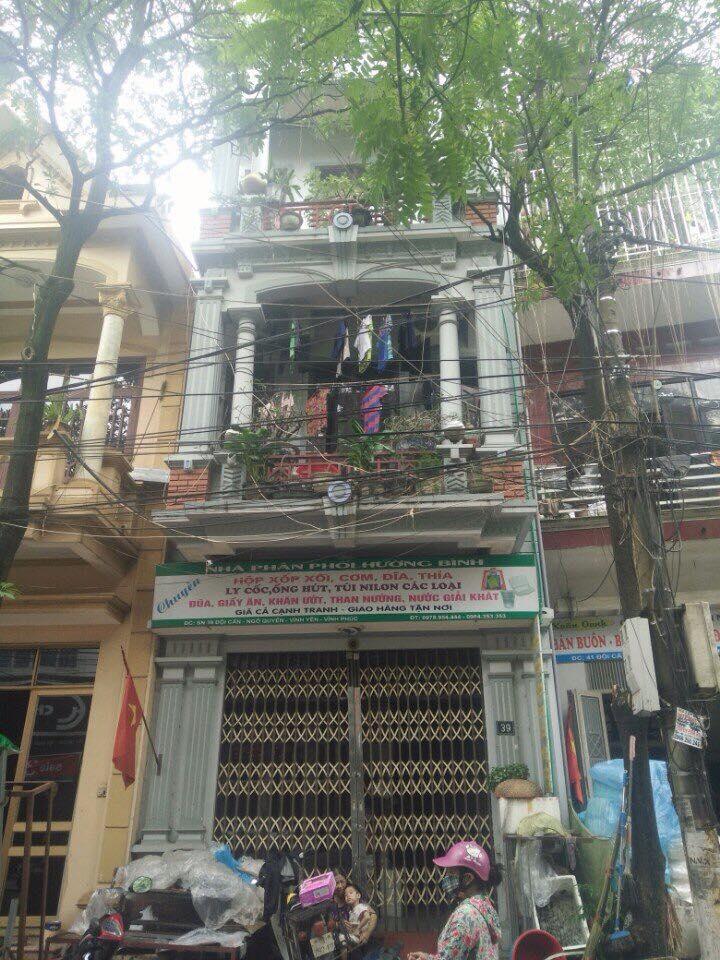 Cần bán gấp nhà 3 tầng mặt phố Hướng ĐN ,Đội cấn, P.Ngô Quyền, Vĩnh Yên