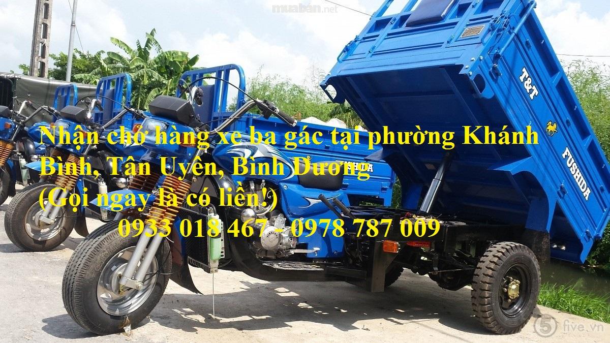 Nhận chở hàng xe ba gác tại xã tân vĩnh hiệp, huyện tân uyên, bình dương 0933 018 467 – 0978 787 00