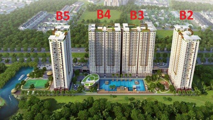 Bán căn hộ The Park Residence căn góc 73,86m2 lầu cao view đẹp, giá 1.75 tỷ/căn