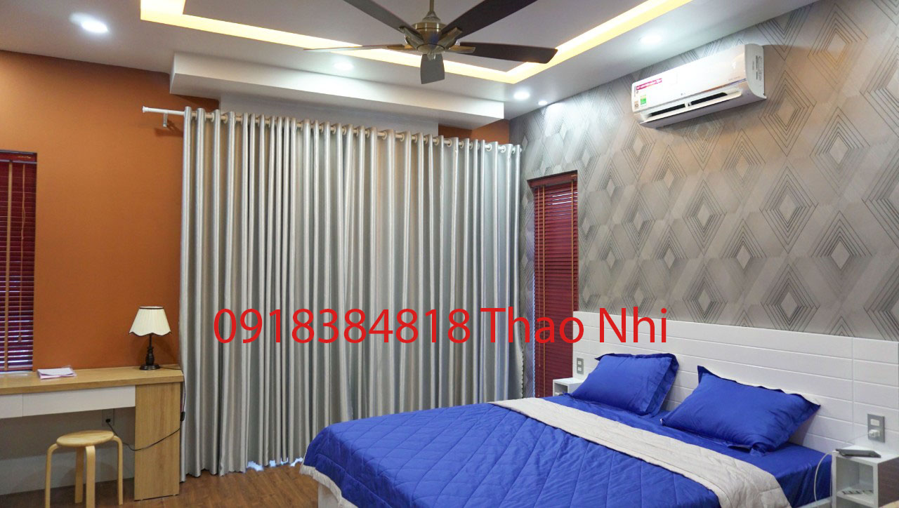 Biệt thự 5 phòng tại Nha Trang cần cho thuê, đầy đủ nội thất sang trọng
