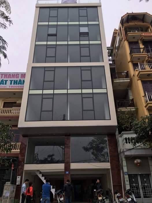 Cho thuê VP Trần Đăng Ninh DT 80m,giá 200k/m,nhà mới oto đỗ miễn phí Chính chủ 0949860740