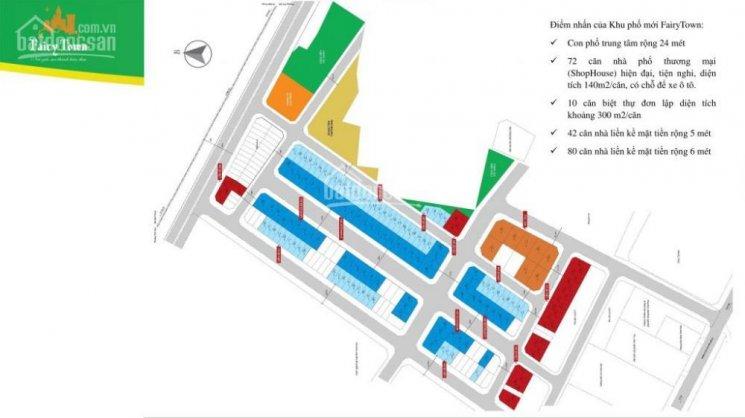bán lô góc shophouse dự án fairy town hướng đông nam 15 tr/m2 lh Em Phượng 0989418687