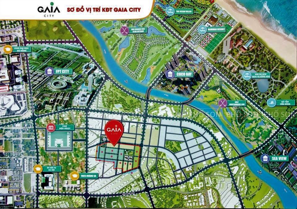 Dự Án Đất Nền Khu Đô Thị GAIA - Quảng Nam được mở bán và nhận đặt chỗ