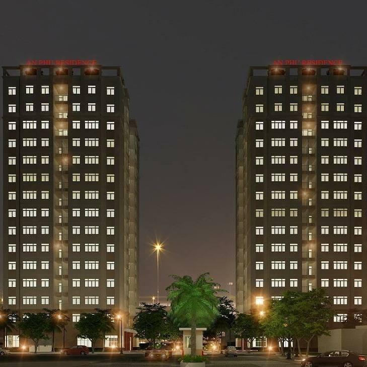 chính chủ cần bán nhanh căn hộ chung cư An Phú 501A-2PN view vườn hoa - nhận nhà rinh ngay SH