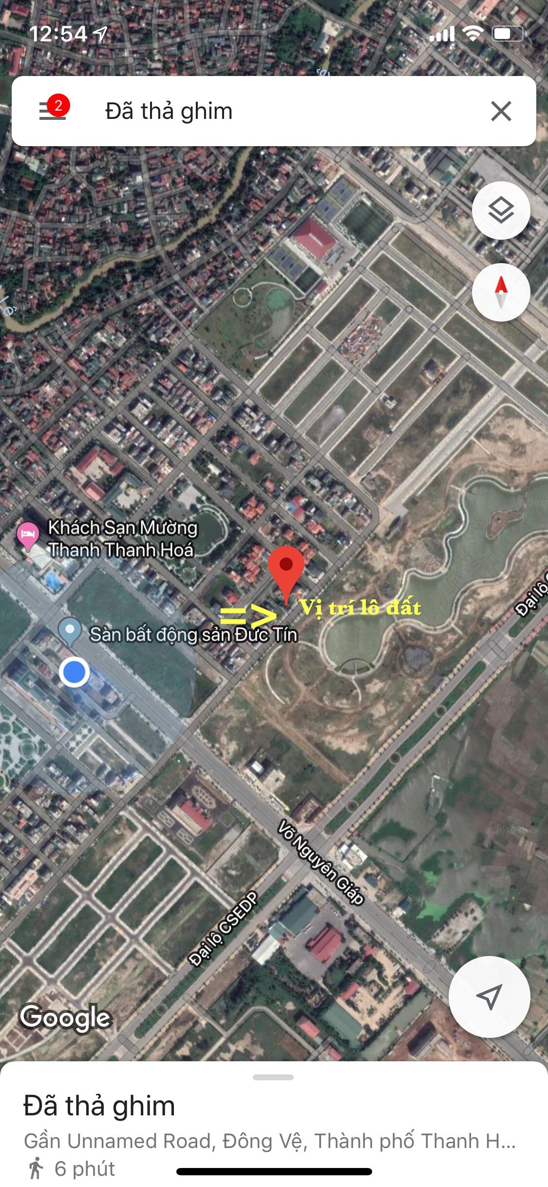 Bán đất mb530 sau KS Mường Thanh view hồ sổ đỏ chính chủ.