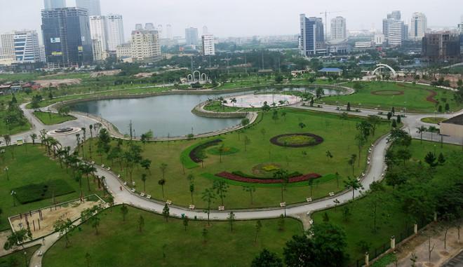Bán nhanh lô đất biệt thự  Mb530 sau KS Mường Thanh, lô đầu ve view công viên và hồ