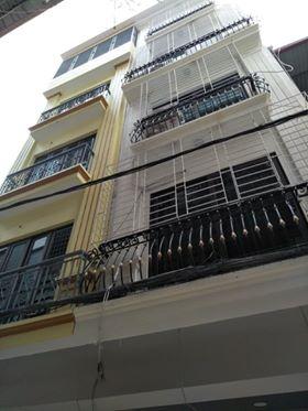 Bán nhà Phố Hoàng Văn Thái, Thanh Xuân, DT 38m2x5 tầng, MT 3.8 giá hơn 5 tỷ.