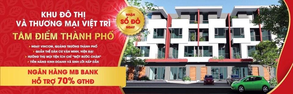 Cần bán nhà liền kề cạnh TTTM Việt Trì giá gốc CĐT ưu đãi cực lớn