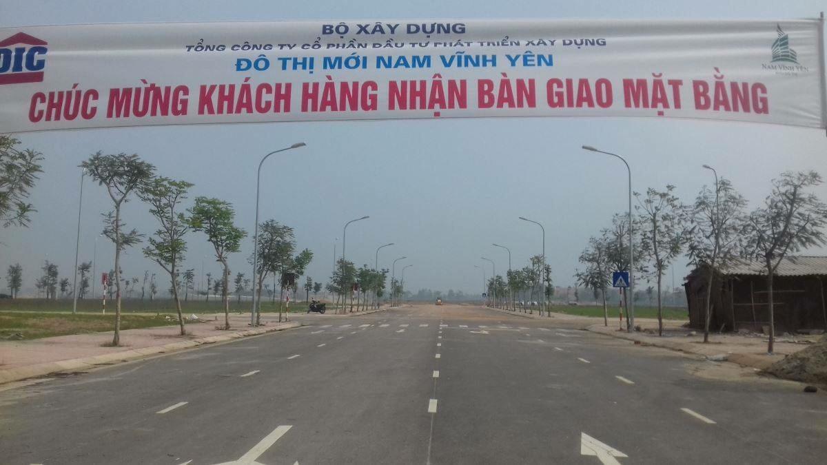 Mua đất Khu đô thị Nam Vĩnh Yên, Ngân hàng MB cho vay trả góp 3%/năm (LH: 0978.397.994)