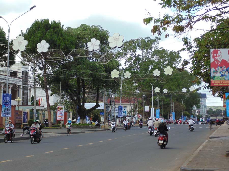 Mặt tiền kinh doanh ngay chợ Nam Thiên, Hoàng Văn Thụ , F5, Đà Lạt.