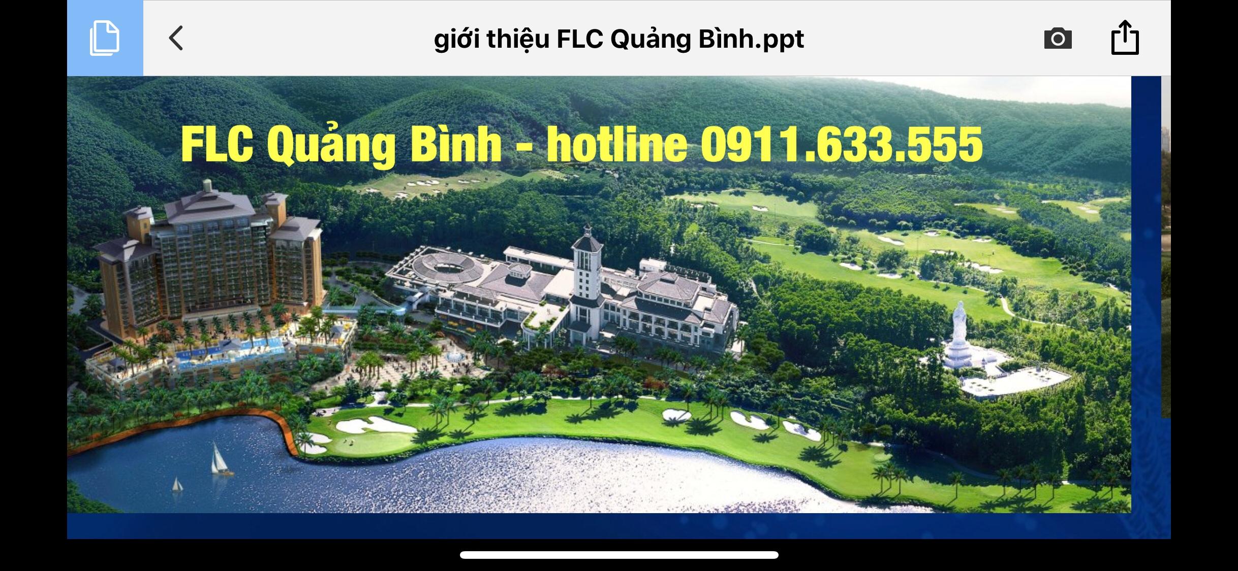 Mở bán FLC Quảng Bình cơ hội đầu tư sinh lời 2018