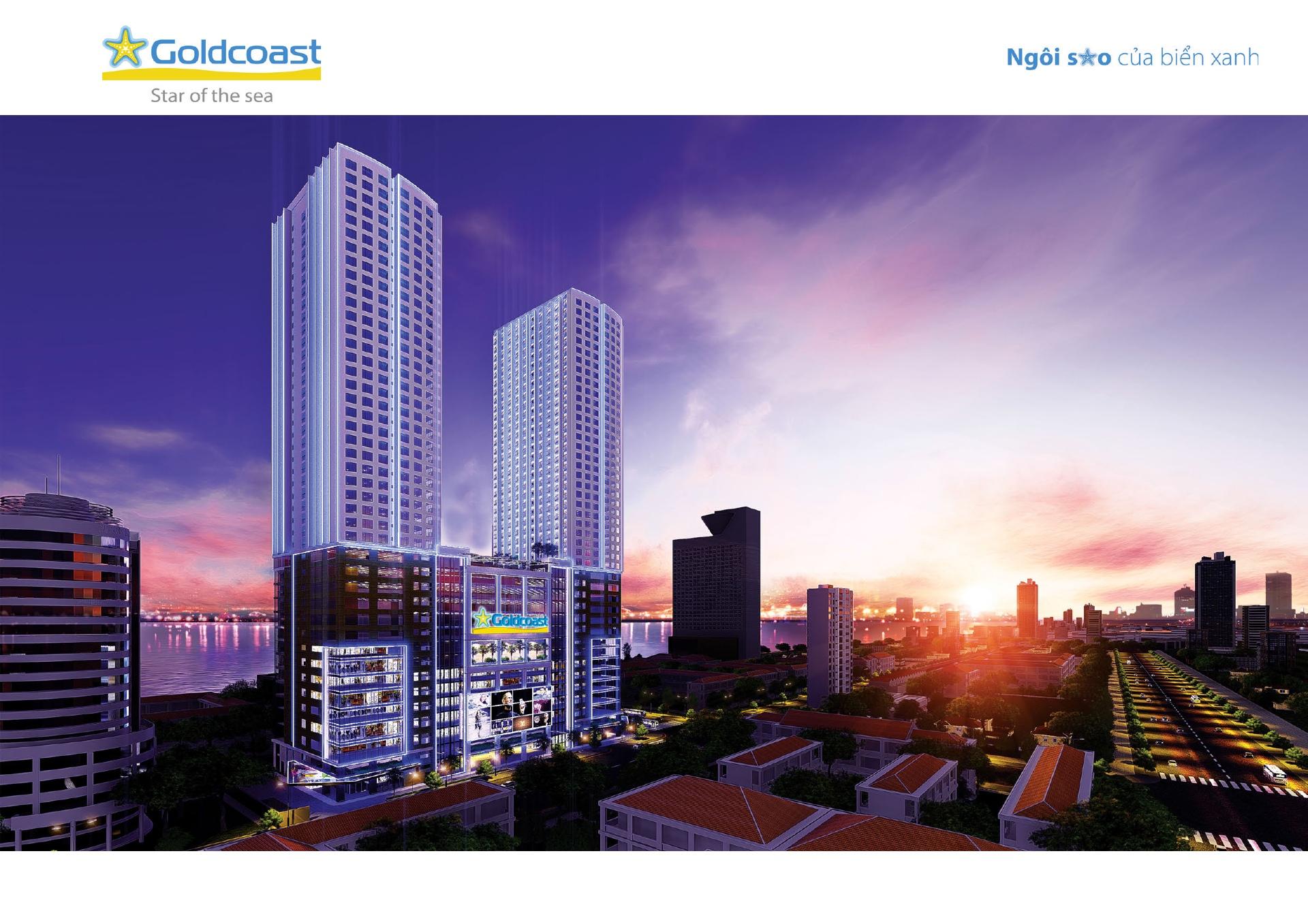 Căn Hộ Biển Gold Coast Nha Trang -20 Trần Phú-1,7 tỷ-Nội Thất 5*