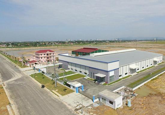 Bán đất công nghiệp 7015m2 có xưởng 3015m2 tại KCN Bình Xuyên 2 Vĩnh Phúc