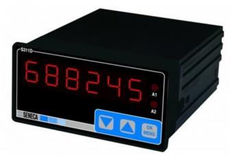 Bộ hiển thị nhiệt độ PT100 seneca