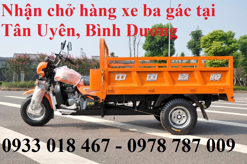 Nhận chở hàng xe ba gác tại phường tân phước khánh, tân uyên, bình dương 0933. 018. 467
