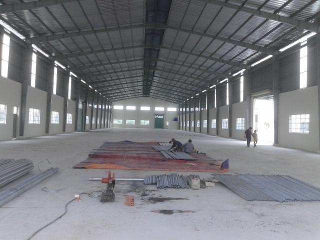 Cho thuê nhà xưởng Vĩnh Phúc giá rẻ 1200m xã Đạo Đức cách KCN Bình Xuyên chỉ 1km