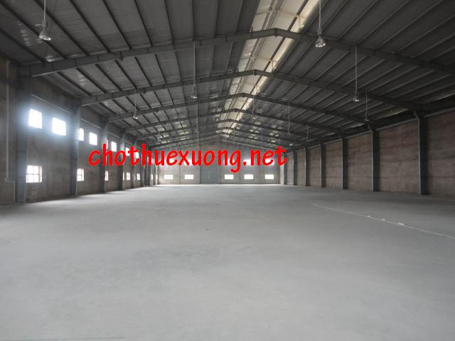 Cho thuê nhà xưởng tại Khu công nghiệp Bình Xuyên Vĩnh Phúc DT 1550m2 giá rẻ