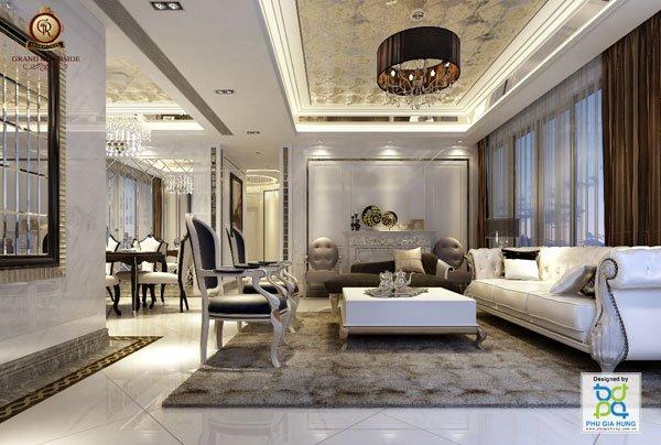 Bán căn hộ Grand Riverside góc 55,1m2 tầng 7 giá rẻ nhất thị trường Quận 4, view sông