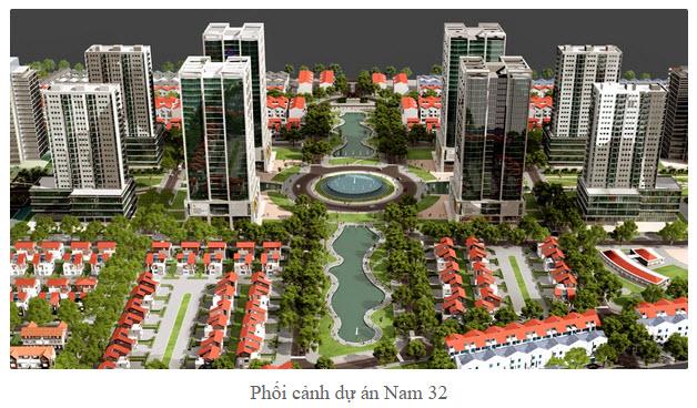 Biệt thự dự án Nam 32, 22tr/m2,sdcc, dự án cao cấp huyện Hoài Đức