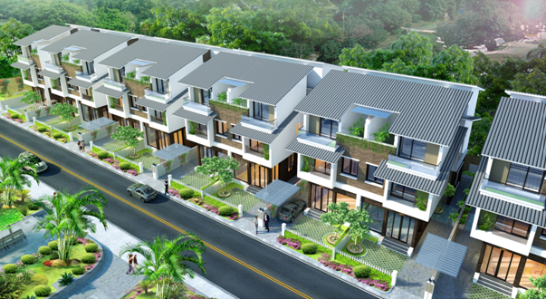 Biệt thự dự án Tràng An Complex, 231m2, 120tr/m2, bao tên