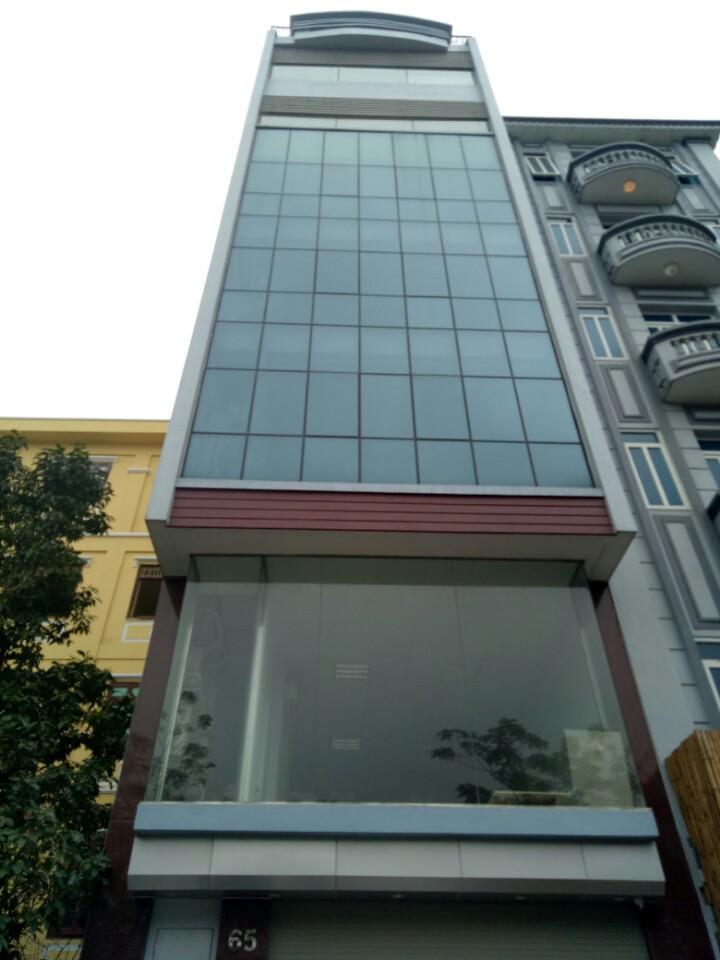 Cho thuê nhà mặt phố yên phụ, mặt tiền 7,8m DT 135m nhà 2 mặt phố