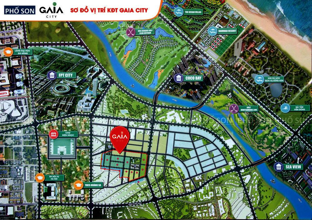 Ra mắt mở đặt chỗ khu đô thị xanh Gaia phía Nam Đà Nẵng, hàng xóm CocoBay giá hấp dẫn CK 15%