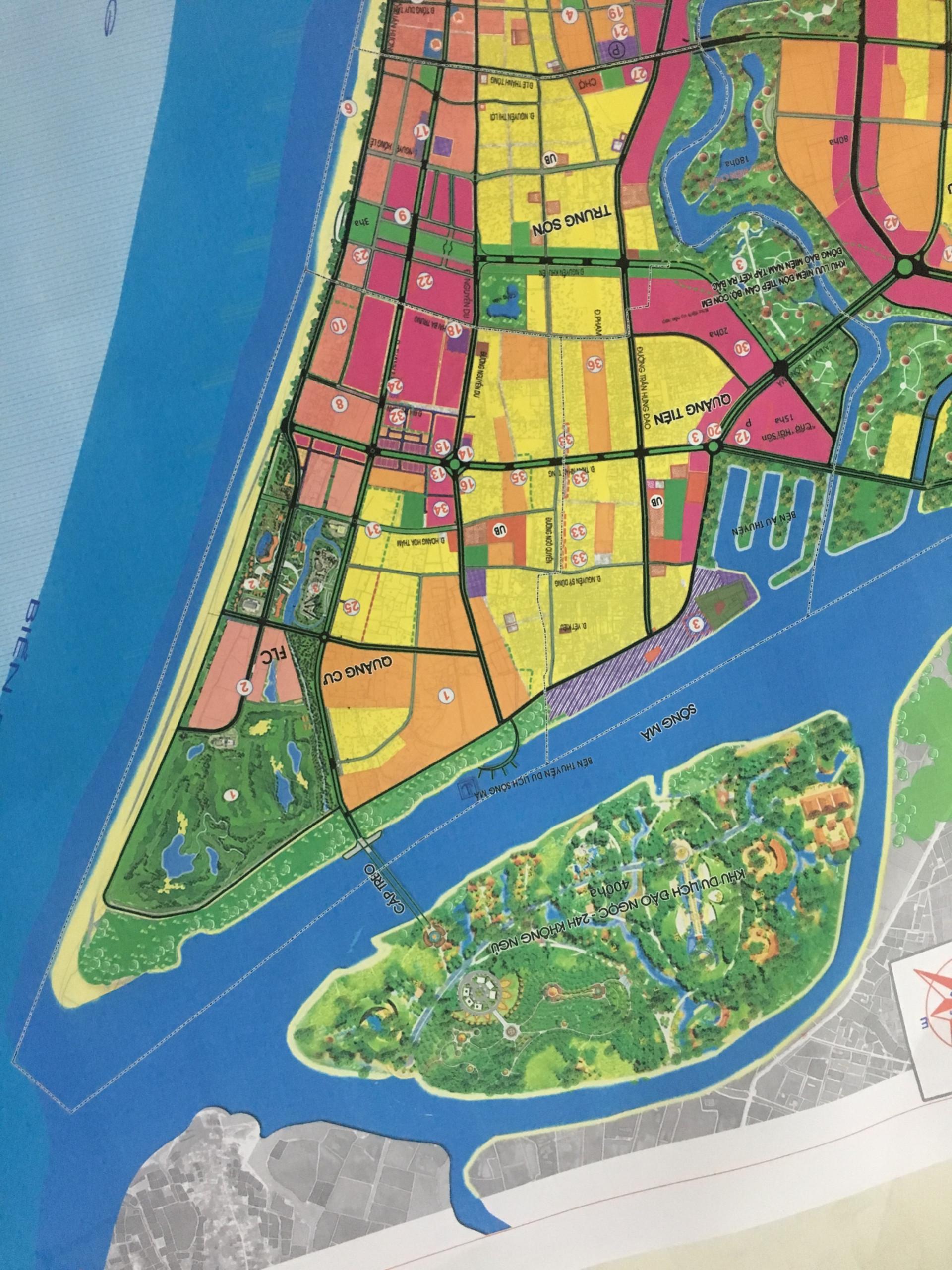 Bán đất đường Thanh Niên, Sầm Sơn Thanh Hoá rộng 49m giáp biển